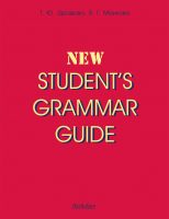 New Student's Grammar Guide