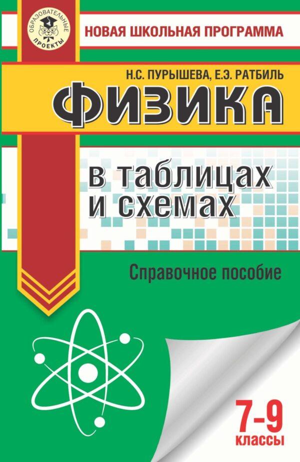 ОГЭ. Физика в таблицах и схемах. Справочное пособие. 7-9 классы
