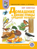 Мир животных. Домашние и дикие птицы Средней полосы. Зимующие и перелётные